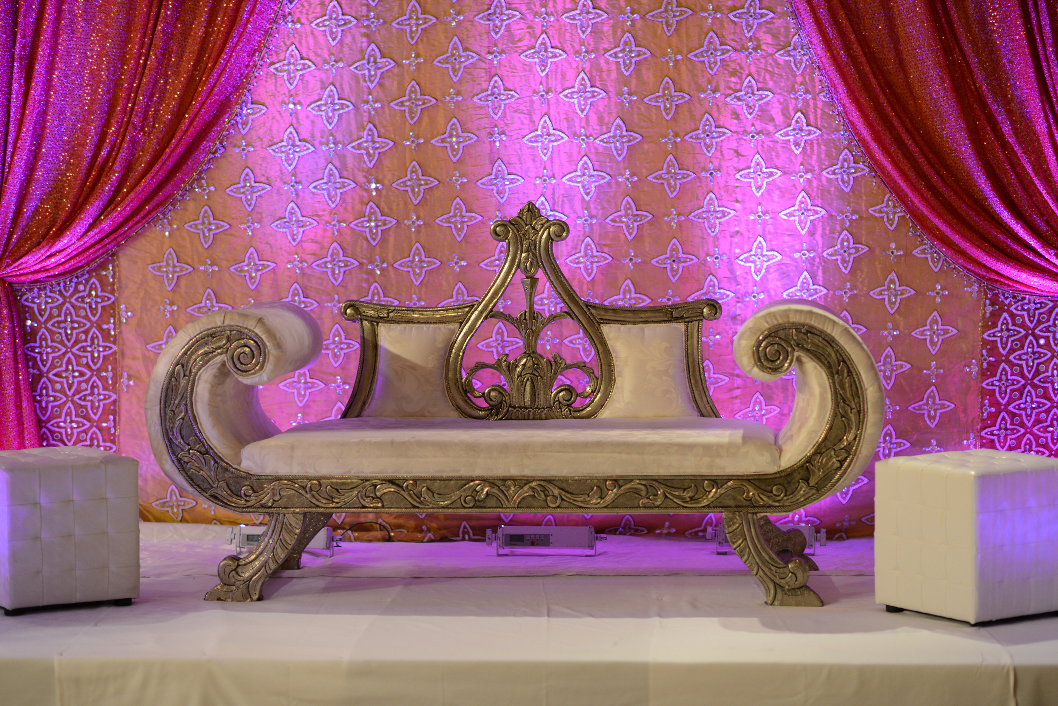 Asian Wedding Venue London Stage