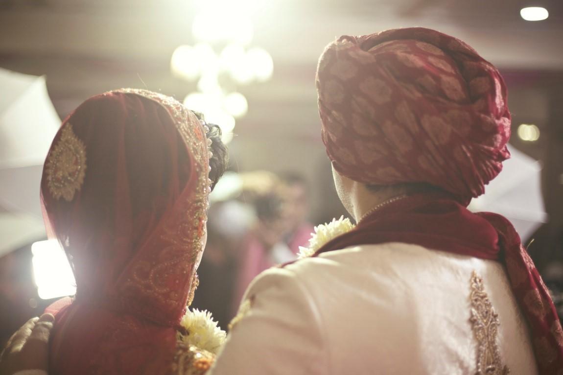 Asian Wedding Scene